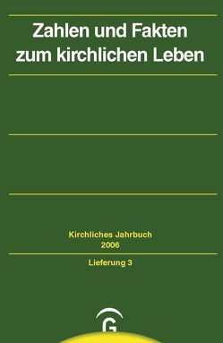 Kirchliches Jahrbuch für die Evangelische Kirche in Deutschland / Zahlen und Fakten zum kirchlichen Leben von Barth,  Hermann, Hauschildt,  Friedrich, Lepp,  Claudia, Oelke,  Harry