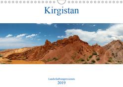Kirgistan – Landschaftsimpressionen (Wandkalender 2019 DIN A4 quer) von Rusch,  Winfried