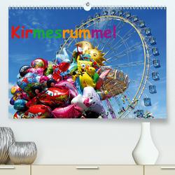 Kirmesrummel (Premium, hochwertiger DIN A2 Wandkalender 2021, Kunstdruck in Hochglanz) von Ellerbrock,  Bernd