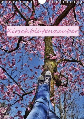 Kirschblütenzauber (Wandkalender 2018 DIN A4 hoch) von Hackstein,  Bettina