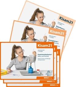 Kisam21 – Experimentierkartei 1 – Schulbundle von Stach,  Silke