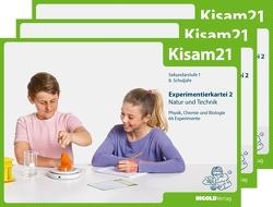 Kisam21 – Experimentierkartei 2 – 3er-Set von Hutzli,  Hansjürg