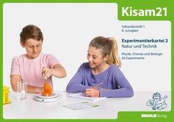Kisam21 – Experimentierkartei 2 – Schüler von Hutzli,  Hansjürg