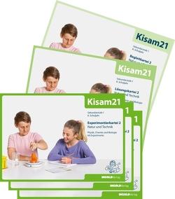 Kisam21 – Experimentierkartei 2 – Schulbundle von Hutzli,  Hansjörg
