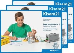 Kisam21 – Experimentierkartei 3 – 3er-Set von Hutzli,  Hansjürg