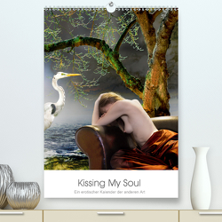 Kissing My Soul. Ein erotischer Kalender der anderen Art (Premium, hochwertiger DIN A2 Wandkalender 2021, Kunstdruck in Hochglanz) von Andingh,  Arthur