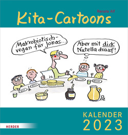 Kita-Cartoons 2023 von Alf,  Renate