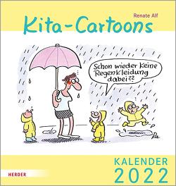 Kita-Cartoons von Alf,  Renate