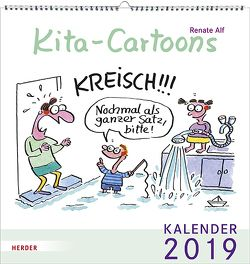 Kita-Cartoons von Alf,  Renate