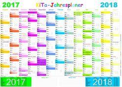 KiTa-Jahresplaner 2017/2018 von E&Z-Verlag