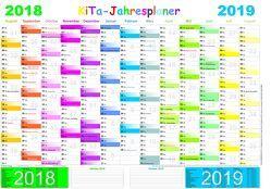 KITA-Jahresplaner 2018/2019