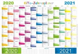 Kita-Jahresplaner 2020/2021 von Momm,  Helga