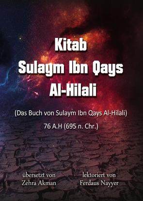 Kitab Sulaym Ibn Qays Al-Hilali von Akman,  Zehra, Ibn Qays Al-Hilali,  Sulaym, Nayyer,  Ferdaus