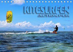 Kitesurfen – Action pur (Tischkalender 2019 DIN A5 quer) von Bleicher,  Renate