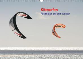 Kitesurfen – Faszination auf dem Wasser (Wandkalender 2020 DIN A3 quer) von Peitz,  Martin
