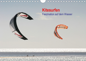 Kitesurfen – Faszination auf dem Wasser (Wandkalender 2020 DIN A4 quer) von Peitz,  Martin