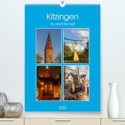 Kitzingen im Hochformat (Premium, hochwertiger DIN A2 Wandkalender 2020, Kunstdruck in Hochglanz) von Will,  Hans