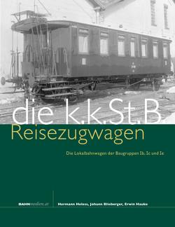 kkStB Reisezugwagen von Blieberger,  Johann, Hauke,  Erwin, Heless,  Hermann