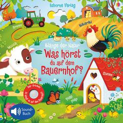 Klänge der Natur: Was hörst du auf dem Bauernhof? von Iossa,  Federica, Taplin,  Sam