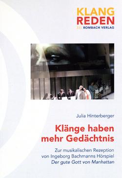 'Klänge haben mehr Gedächtnis' von Hinterberger,  Julia