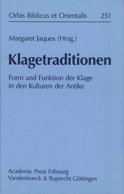 Klagetraditionen von Jaques,  Margaret