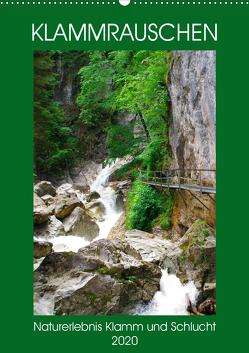 Klammrauschen – Naturerlebnis Klamm und Schlucht (Wandkalender 2020 DIN A2 hoch) von Schimmack,  Michaela