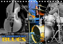 Klangbilder des Blues (Tischkalender 2019 DIN A5 quer) von Bleicher,  Renate