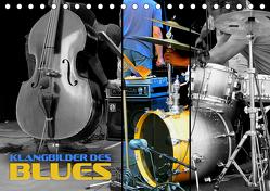 Klangbilder des Blues (Tischkalender 2020 DIN A5 quer) von Bleicher,  Renate