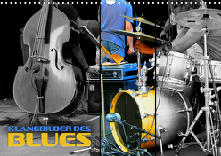 Klangbilder des Blues (Wandkalender 2019 DIN A3 quer) von Bleicher,  Renate