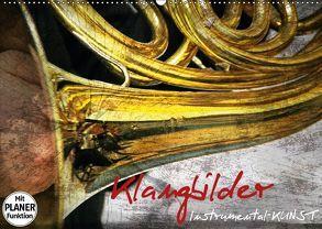 Klangbilder Instrumental-KUNST (Wandkalender 2018 DIN A2 quer) von Marten,  Martina