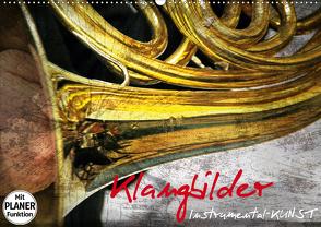 Klangbilder Instrumental-KUNST (Wandkalender 2020 DIN A2 quer) von Marten,  Martina