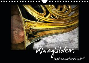 Klangbilder Instrumental-KUNST (Wandkalender 2020 DIN A4 quer) von Marten,  Martina