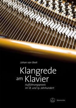 Klangrede am Klavier von Beek,  Johan van