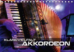 Klangvielfalt Akkordeon (Tischkalender 2019 DIN A5 quer) von Bleicher,  Renate