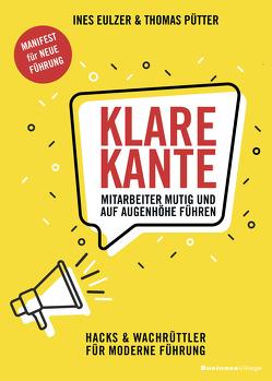 KLARE KANTE von Eulzer,  Ines, Pütter,  Thomas