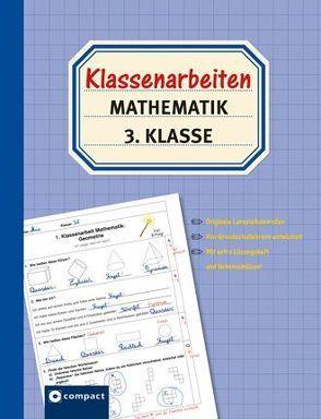 Klassenarbeiten Mathematik 3. Klasse von Schöndorf,  Gerswid