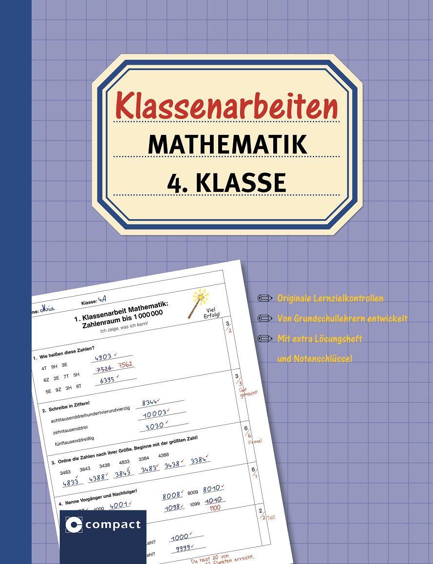 klassenarbeiten mathematik 4 klasse von sch246ndorf