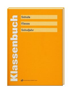 Klassenbuch sonnengelb