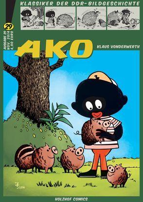Klassiker der DDR-Bildgeschichte / AKO von Vonderwerth,  Klaus