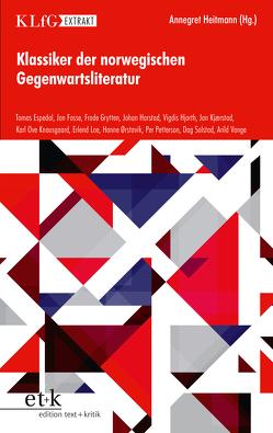 Klassiker der norwegischen Gegenwartsliteratur von Heitmann,  Annegret