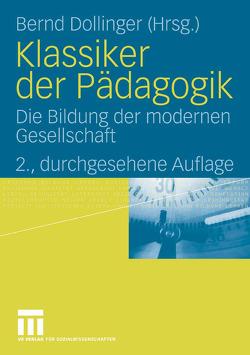 Klassiker der Pädagogik von Dollinger,  Bernd