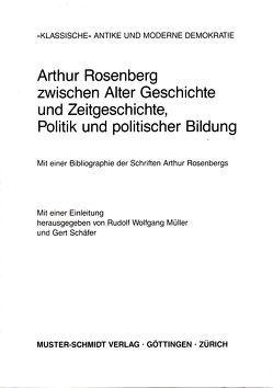 """""""Klassische"""" Antike und moderne Demokratie von Müller,  Rudolf W, Schäfer,  Gert"""