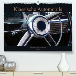 Klassische Automobile – Lenkräder und Armaturen (Premium, hochwertiger DIN A2 Wandkalender 2021, Kunstdruck in Hochglanz) von Gube,  Beate