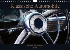 Klassische Automobile – Lenkräder und Armaturen (Wandkalender 2019 DIN A4 quer) von Gube,  Beate