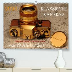 KLASSISCHE KAMERAS vom 19.Jahrhundert (Premium, hochwertiger DIN A2 Wandkalender 2020, Kunstdruck in Hochglanz) von Fraatz,  Barbara