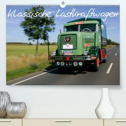 Klassische Lastkraftwagen (Premium, hochwertiger DIN A2 Wandkalender 2020, Kunstdruck in Hochglanz) von Bau,  Stefan