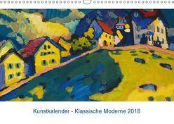 Klassische Moderne 2018 – Mit Kunst durchs Jahr (Wandkalender 2018 DIN A3 quer) von Artothek,  k.A.