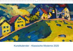 Klassische Moderne 2020 – Mit Kunst durchs Jahr (Wandkalender 2020 DIN A3 quer) von Artothek