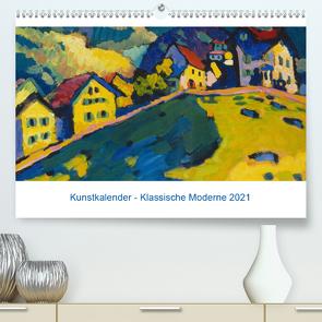 Klassische Moderne 2021 – Mit Kunst durchs Jahr (Premium, hochwertiger DIN A2 Wandkalender 2021, Kunstdruck in Hochglanz) von Artothek