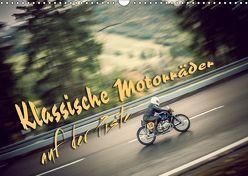 Klassische Motorräder auf der Piste (Wandkalender 2019 DIN A3 quer) von Hinrichs,  Johann